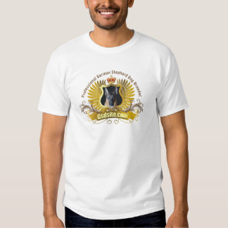 German Shepherd Dog Breeder and Owner Products T Shirts