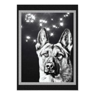 German Shepherd Dog Card
