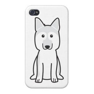 German Shepherd Dog Cartoon iPhone 4/4S Case