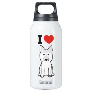 German Shepherd Dog Cartoon Thermos Bottle