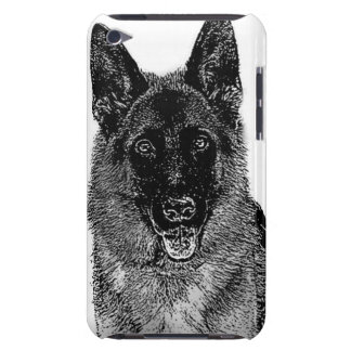 Dog Holding American Flag In Mouth Barely There Ipod Cases