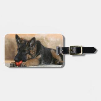 German Shepherd Dog Design Tags For Luggage