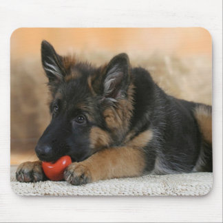 German Shepherd Dog Design Mouse Pad