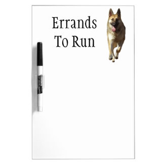 German Shepherd Dog Dry Erase Board