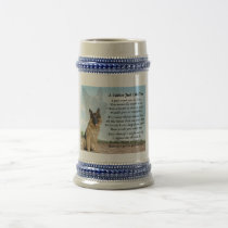 German Shepherd Dog Father Poem Stein