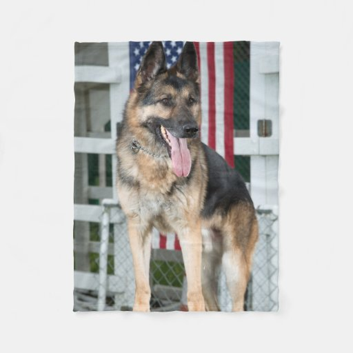 german shepherd blanket german shepherd dog fleece blanket zazzle 1235