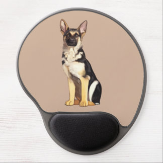 German Shepherd Dog Gel Mouse Pad