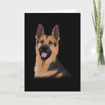 German Shepherd Dog Gift Idea Card