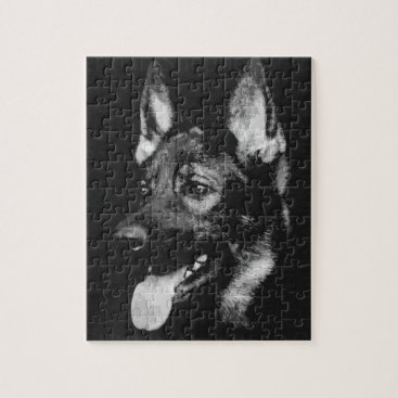 German Shepherd Dog - GSD Jigsaw Puzzle