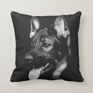German Shepherd Dog - GSD Throw Pillow