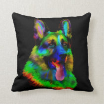 German Shepherd Dog  - GSD Throw Pillow