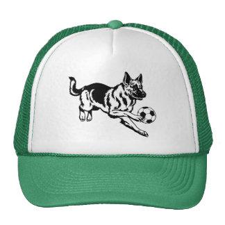 german shepherd dog trucker hat