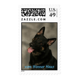 German Shepherd Dog Head stamp - Customized