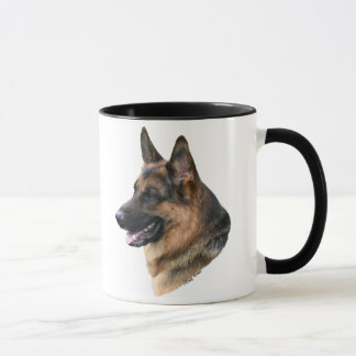 German Shepherd Dog headstudy Mug