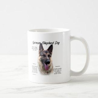 German Shepherd Dog History Design Coffee Mug