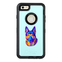 OtterBox Symmetry iPhone 6/6s Plus Case with German Shepherd Phone Cases design
