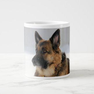 German Shepherd Dog in the Snow Mug