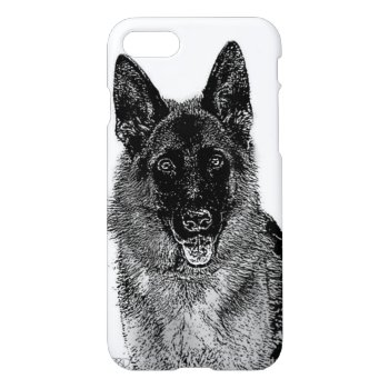 German Shepherd dog iPhone 7 Case