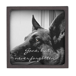 German Shepherd Dog Jewelry Box