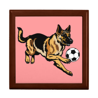 german shepherd dog keepsake box