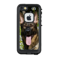 LifeProof® FRĒ® for iPhone® 5/5S/SE Case with German Shepherd Phone Cases design