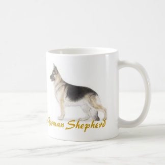 German Shepherd, Dog Lover Galore! Classic White Coffee Mug