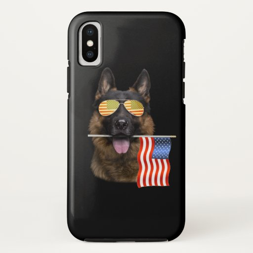 German Shepherd Dog Lover Gift iPhone X Case