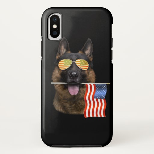 German Shepherd Dog Lover Gift iPhone XS Case
