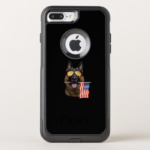 German Shepherd Dog Lover Gift OtterBox Commuter iPhone 8 Plus/7 Plus Case