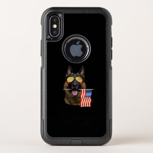 German Shepherd Dog Lover Gift OtterBox Commuter iPhone XS Case