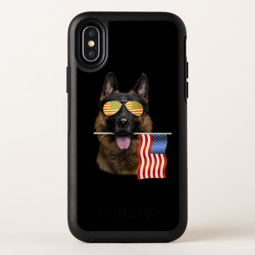 German Shepherd Dog Lover Gift OtterBox Symmetry iPhone XS Case