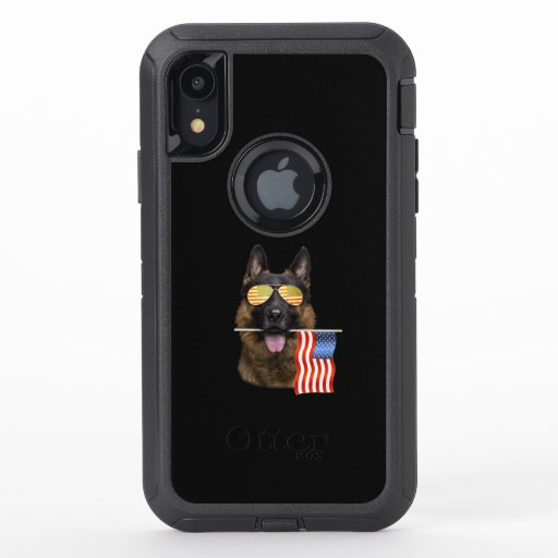 German Shepherd Dog Lover Gift OtterBox Defender iPhone XR Case