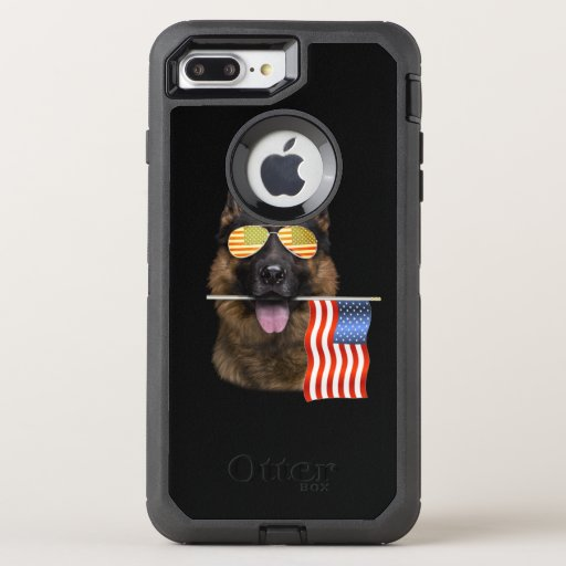 German Shepherd Dog Lover Gift OtterBox Defender iPhone 8 Plus/7 Plus Case