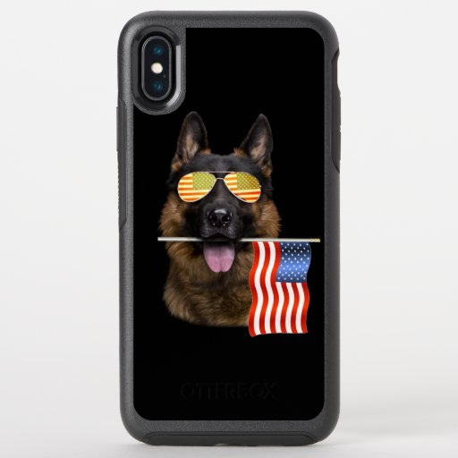 German Shepherd Dog Lover Gift OtterBox Symmetry iPhone XS Max Case