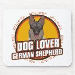 German Shepherd Dog Lover Mouse Pads