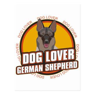 German Shepherd Dog Lover Postcard