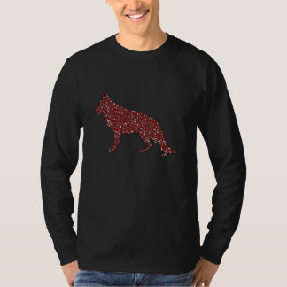 German Shepherd Dog Men's Long Sleeve Shirt