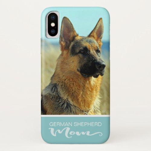 German Shepherd Dog Mom Add Your Dog Photo Phone Case