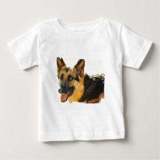 German Shepherd Dog Photo Baby Shirt
