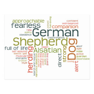 German Shepherd Dog Postcards