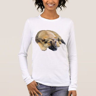 German Shepherd Dog Puppy Long Sleeve T-Shirt