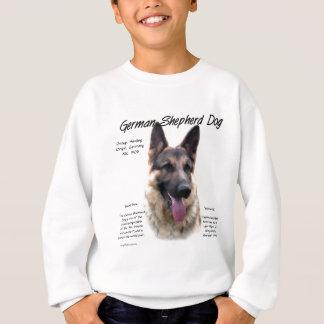 German Shepherd Dog (sable) History Design Sweatshirt