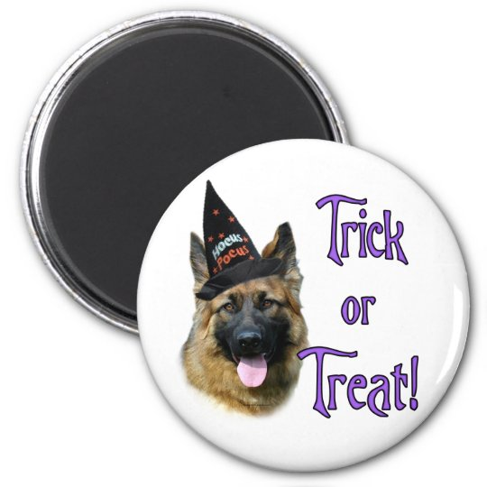 German Shepherd Dog (sable) Trick Magnet