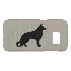 Case-Mate Barely There Samsung Galaxy S7 Case with German Shepherd Phone Cases design