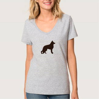 German Shepherd Dog Silhouette T-Shirt