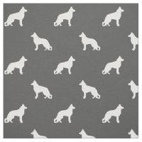 German Shepherd Dog Silhouettes Pattern