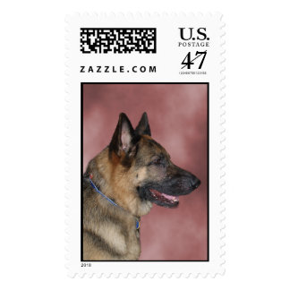 German Shepherd Dog Stamp