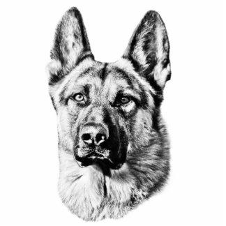 German Shepherd dog Statuette
