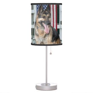 German Shepherd Dog Table Lamp