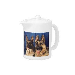 German Shepherd Dog Teapot at Zazzle